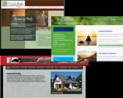 website design mosaic